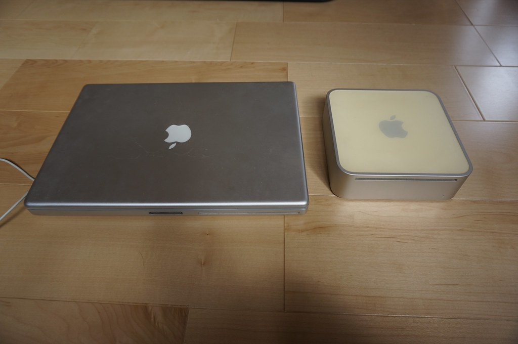 PowerBook G4 and Mac Mini G4