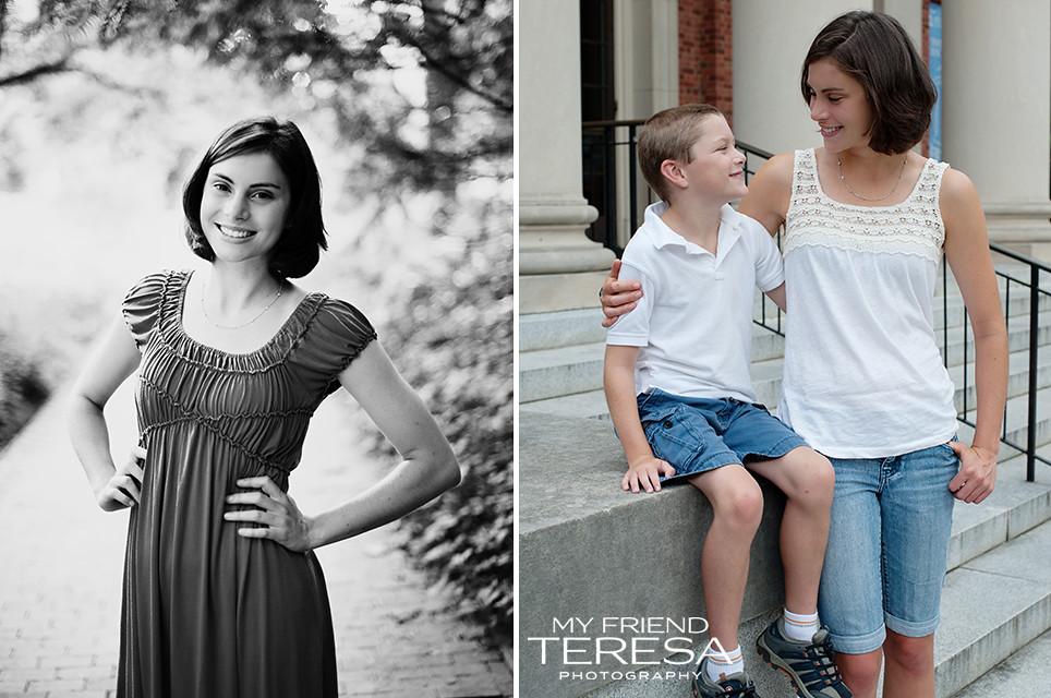 cary academy senior portrait, cary senior portraits, my friend teresa photography
