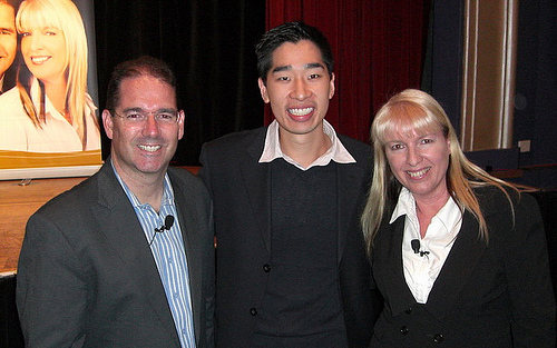 Andrew and Daryl Grant and Tyrone Shum