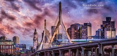 Zakim Sunset – Another View