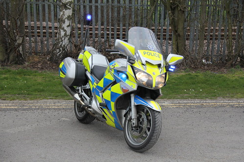 Humberside Police Yamaha FJR1300 Roads Policing Unit Traffic Bike