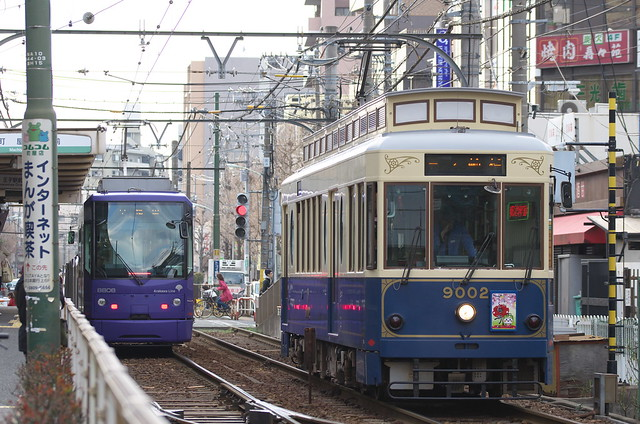 Tokyo Train Story 都電荒川線 2014年3月23日