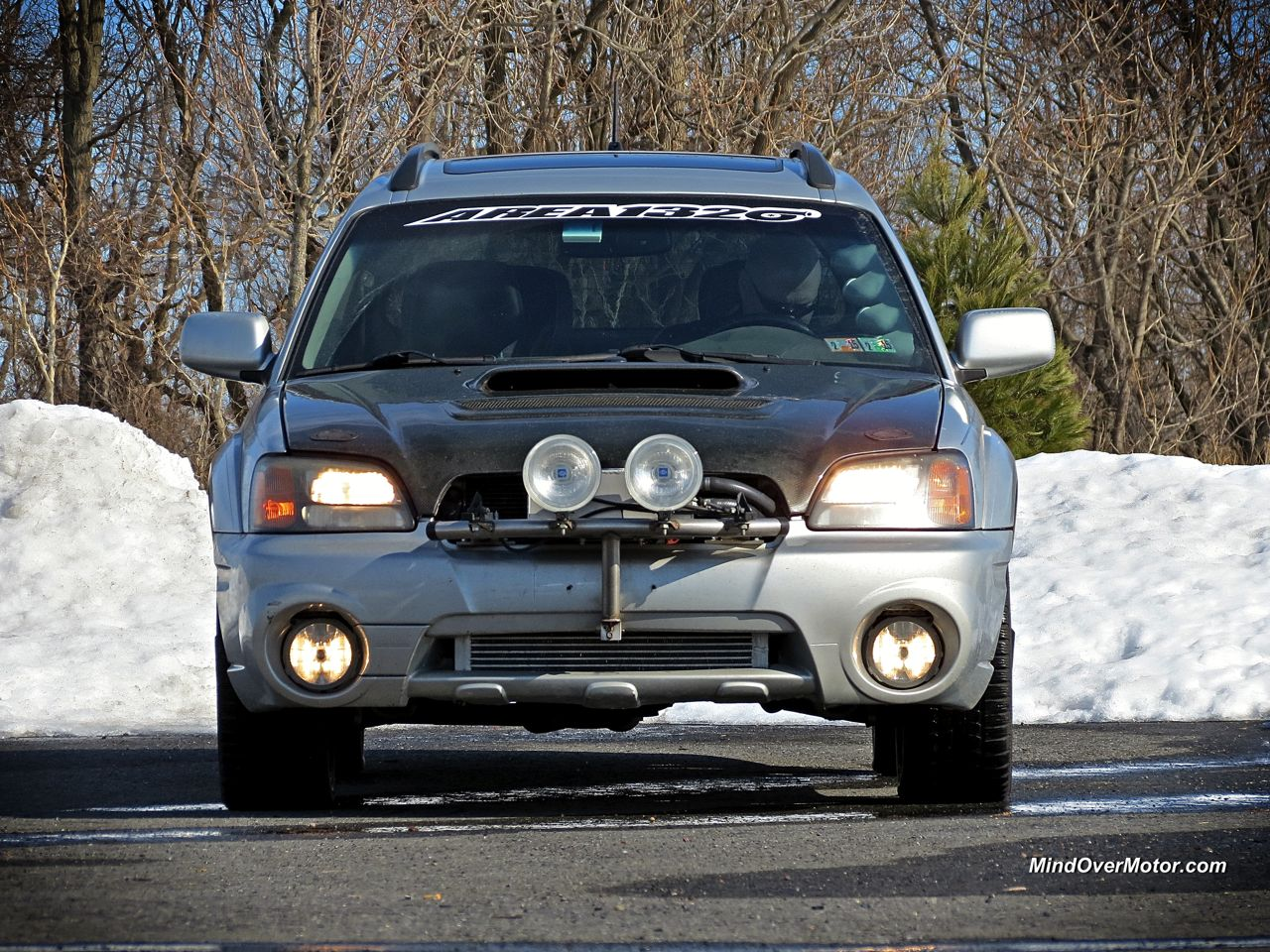 Subaru Baja From Hell Front