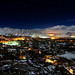 Leh, Ladakh on a winter night by Neha & Chittaranjan Desai