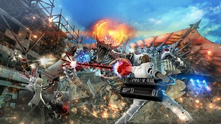 Freedom Wars on PS Vita