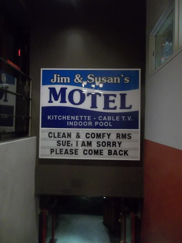 Jim & Susan's Motel, by Ken Lum, at the Drake Hotel