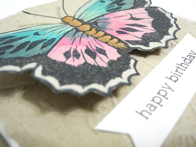 Happy Birthday Butterfly (detail)