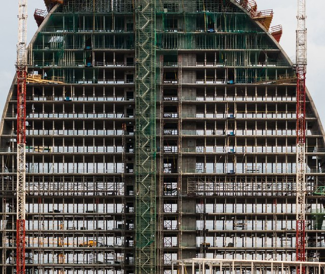 Herzog & de Meuron. BBVA headquarters. (Under construction) #4