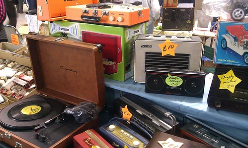 Radios and Record players