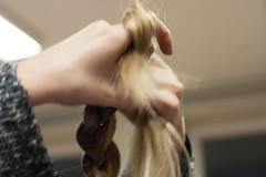 hairstyle, skin, hairdresser, hair, limb, fashion, long hair, blond, beauty,