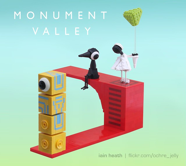 LEGO Monument Valley