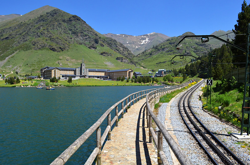 Vall de Nuria, Pyrenees, Spain