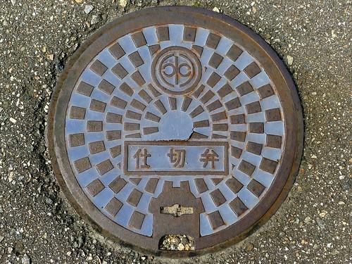 Daimon Toyama, manhole cover 4 (富山県大門町のマンホール4)