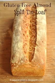 Gluten Free Almond Split Tin Loaf / Pancarré alle mandorle senza glutine