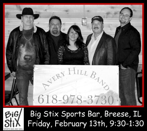 Avery Hill Band 2-13-15
