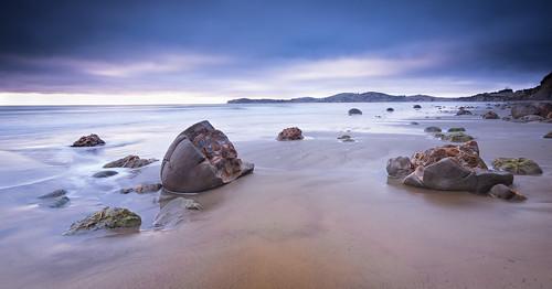 newzealand sunrise amanecer moeraki 2014 moerakibouldersbeach