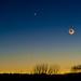 Night sky with Venus by Darksidedesign