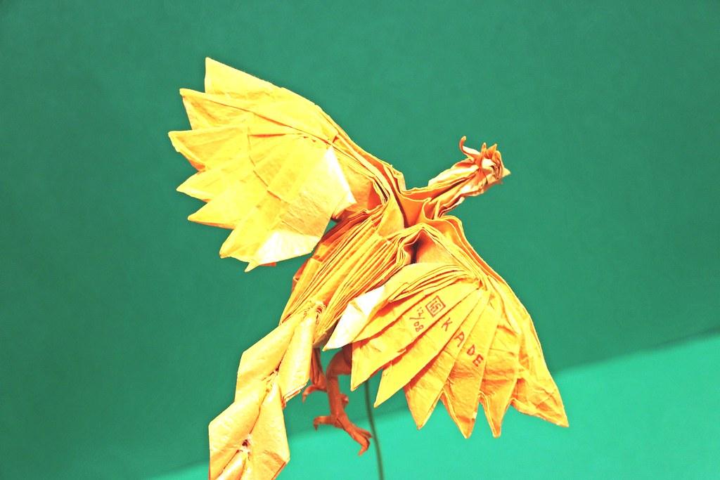 Phoenix Designed By Satoshi Kamiya Folded Kade Chan