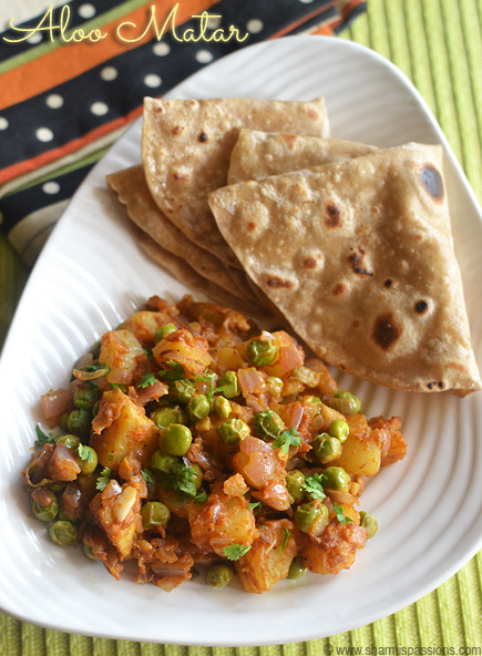 Aloo Mutter Masala