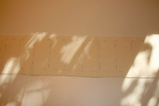 Tuto couture - bouillotte en graines de lin pour les cervicales - Etape 2
