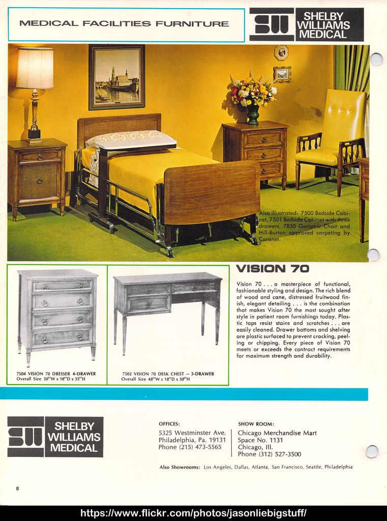 Shelby Williams 1971 Furniture Catalog Page 010