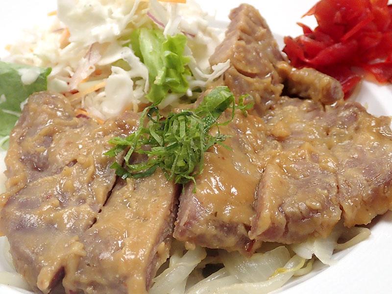 豚肉の味噌ステーキ