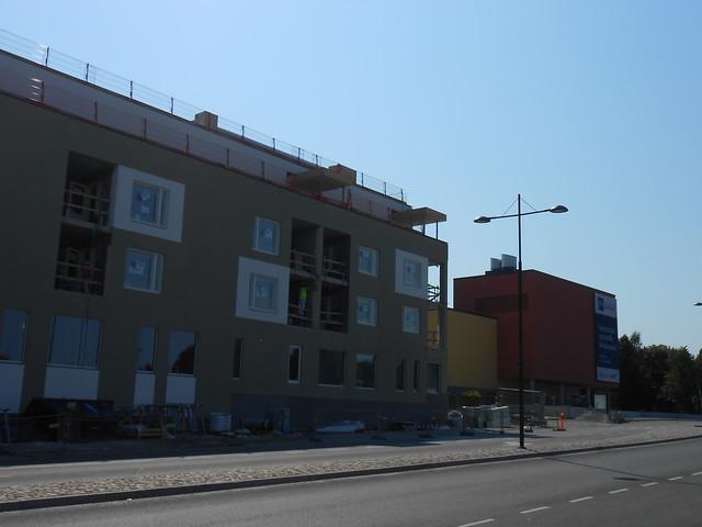 Hämeenlinnan moottoritiekate ja Goodman-kauppakeskus: Työmaatilanne 4.8.2014 - kuva 5