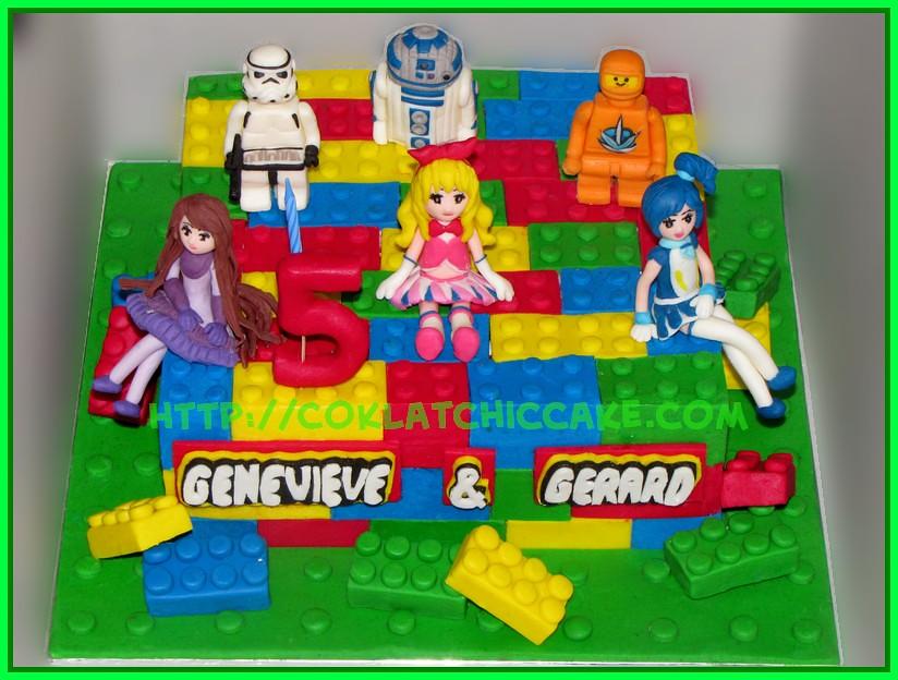 Cake Lego StarWars Aikatsu