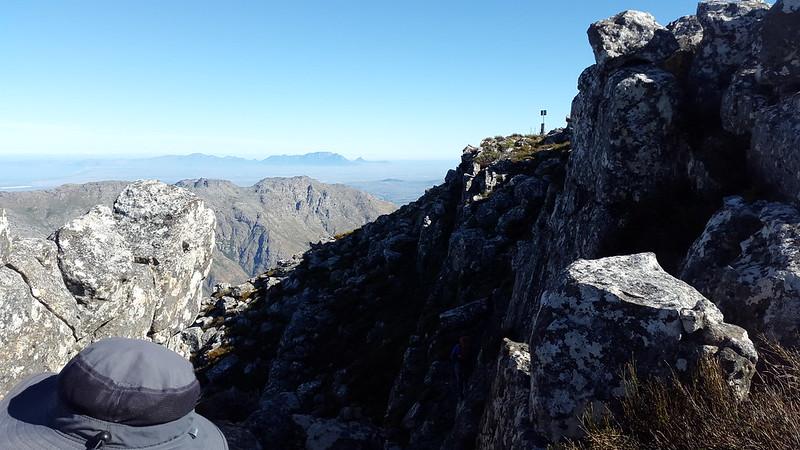 Approaching the Peak summit