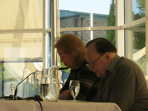 Gerhard Rühm und Monika Lichtenfeld