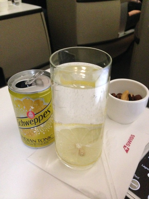 Swiss Airlines Gin & Tonic