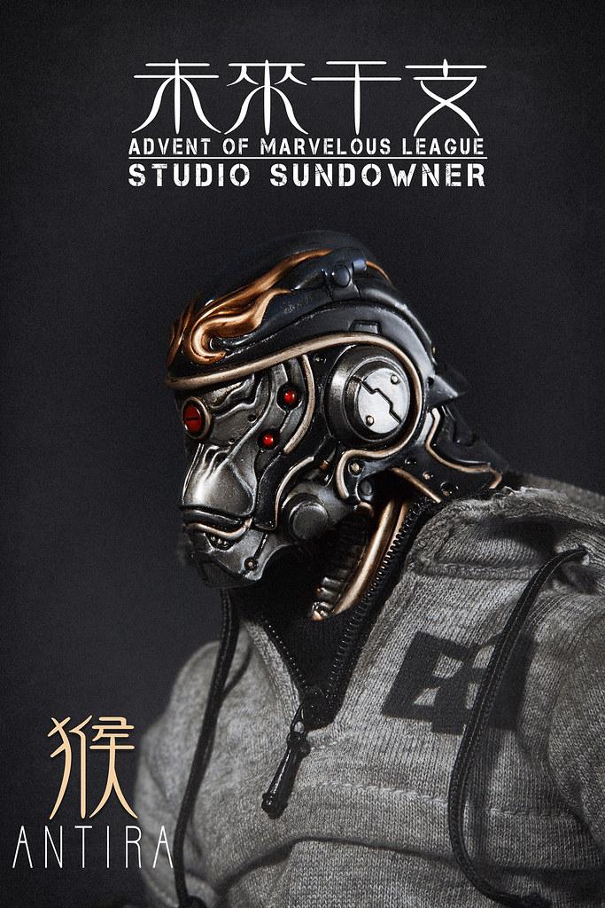 """STUDIO SUNDOWNER - """"未來干支""""第一彈-申將 安底羅官網預購正式開始!系列第二彈-寅將 真達羅,近期即將公開!"""