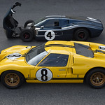 Le Mans 1966: Ford Wins 50 Years Ago Demo Day