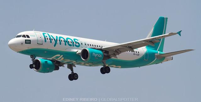 AIRBUS A320-200 (VP-CXF) FLYNAS | DUBAI | DXB-OMDB