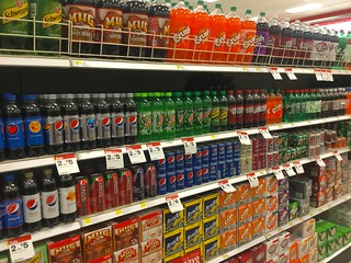 Soda Pop Aisle, Target | by JeepersMedia