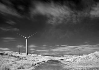 Lambrigg Wind Farm - infrared
