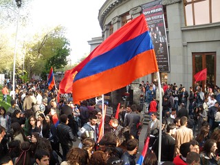 Armenian Genocide 98th Anniversary, 24 April 2013, Yerevan, Armenia