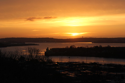 ireland castle port sunrise cork blackrock