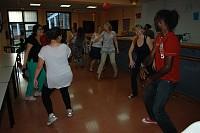 África aterrizó en Ciudad Jardín gracias a la danza