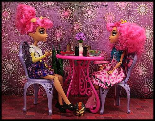 Dinner at the Starlight Cafe by DollsinDystopia
