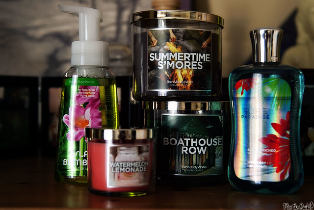 Bath and Body Works Summer Shopping