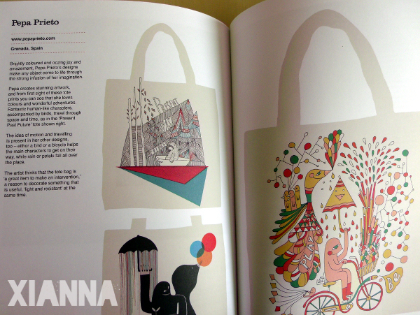 The Tote Bag book - Pepa Prieto
