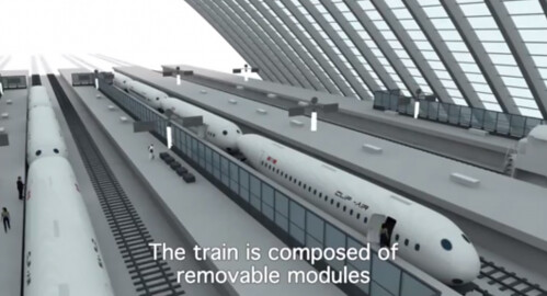 Clip-Air – гибрид самолета и поезда