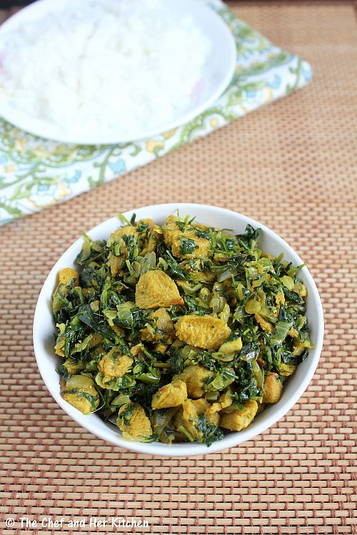 methi stir fry