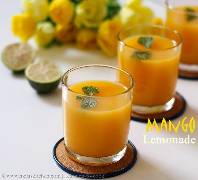 How to make Mango lemonade