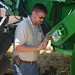 Jarret fixes his combine
