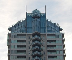 Apartment Building Reaching Upward