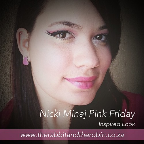 LOTD - Look of the Day Nicki Minaj Pink Friday Inspired Look + Tutorial Up on the Blog  www.therabbitandtherobin.co.za {follow me @robindeel on Instagram} Official @rabbitandrobin #style #makeup #lotd #tutorial #nickiminaj #pink #pinkfriday @allpinkbarbie