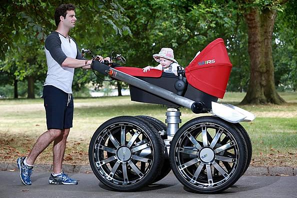 霸气超级无敌 VRS大脚婴儿推车-玩意儿