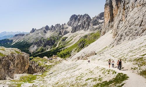 Dolomites - Val di Fassa - Vinicio Capossela at Vajolet 20